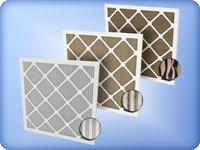 Панельные ячейковые фильтра, фильтры ФЯК