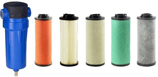 Фильтры OMI для очистки сжатого воздуха