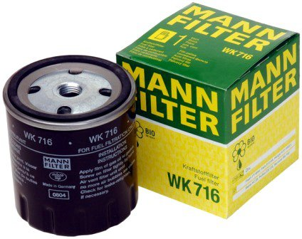 MANN fuel filters