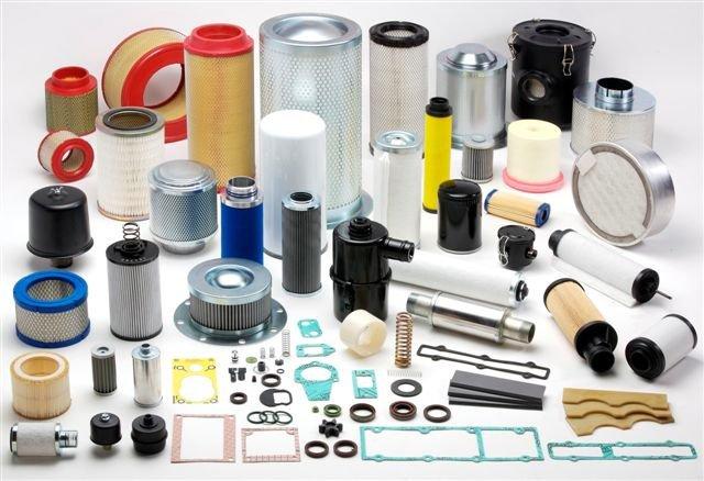 Запасные части на вакуумные насосы и компрессоры
