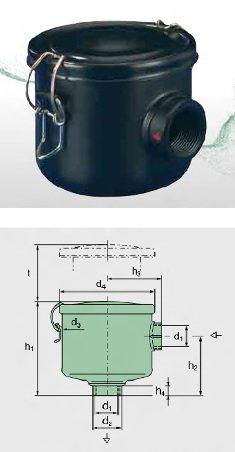 Схема вакуумного фильтра