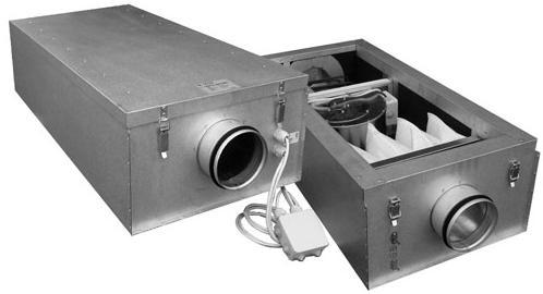 Пластинчатые шумоглушители для вентиляционных систем