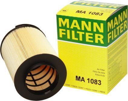 Воздушные фильтры Манн для спецтехники